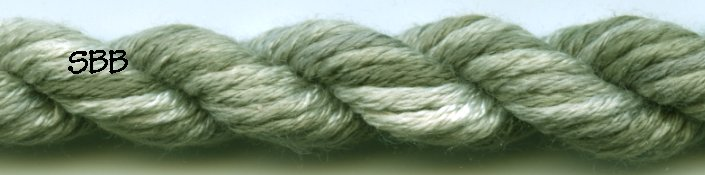 Thread Gatherer Silk 'N Colors0290 Jaded Ivory