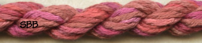 Thread Gatherer Silk 'N Colors0328 Ring-A-Round Rosie