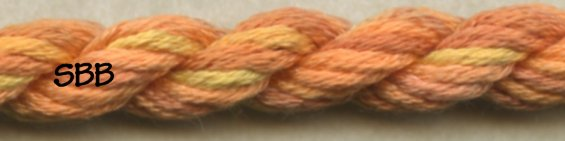 Thread Gatherer Silk 'N Colors0332 Tuscan Sun