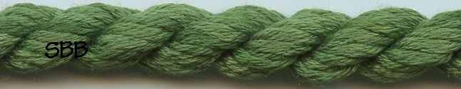 Thread Gatherer Silk 'N Color0345 Portiere Green