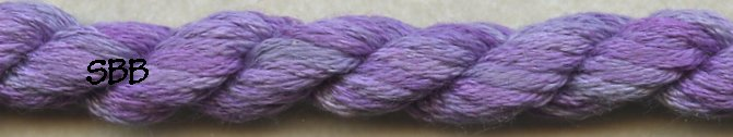 Thread Gatherer Silk 'N Color0347 Lavender Fields