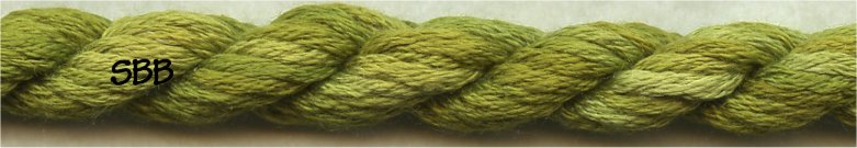 Thread Gatherer Silk 'N Color0338 Lizard Back