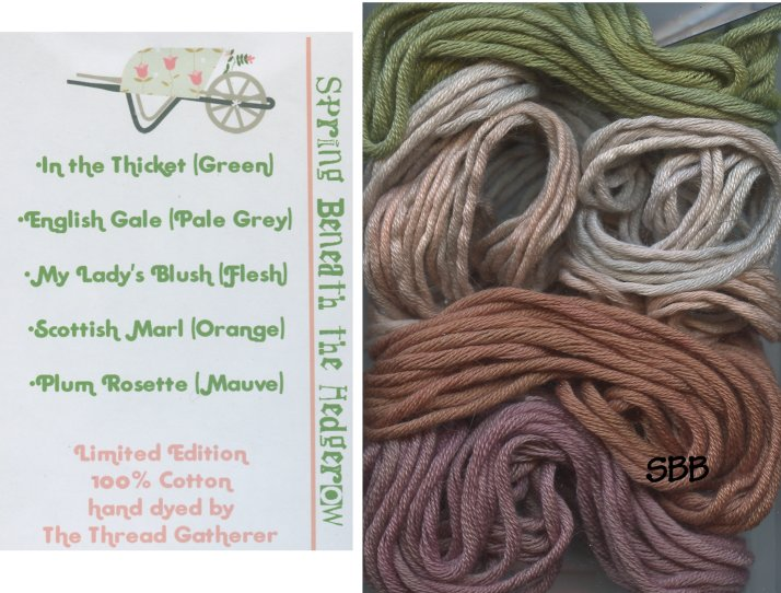 Thread Gatherer Limited Edition Cotton Pack Spring Beneath The Hedgerow
