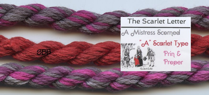 Thread Gatherer Limited Edition Silk 'N Colors The Scarlet Letter Pack