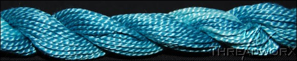 Threadworx Pearl Cotton #551056 Turquoise Blue