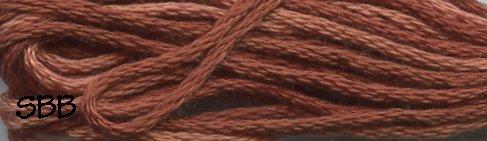 Valdani Variegated Floss H201 Rust