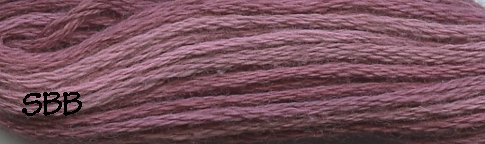 Valdani Variegated Floss H208 Forgotten Lavender