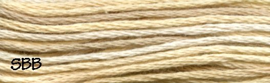 Valdani Variegated Floss JP01 Sunwashed