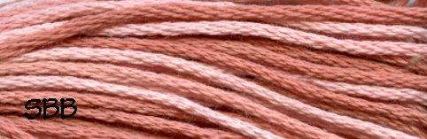 Valdani Variegated Floss JP05 Nantucket Rose