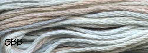 Valdani Variegated Floss JP11 Heavenly Hue