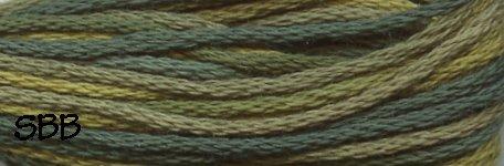 Valdani Variegated Floss M0019 Olives