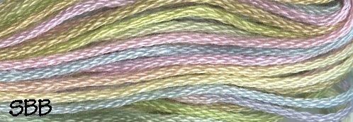 Valdani Variegated Floss M0020 Pastels