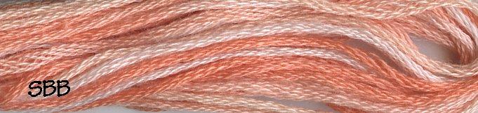 Valdani Variegated Floss M0022 Peaches
