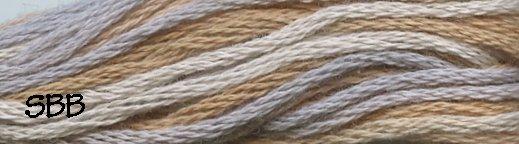 Valdani Variegated Floss M0023 Neutrals & Naturals