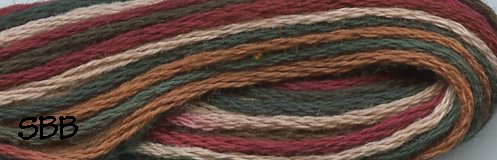 Valdani Variegated Floss M0029 Countryside