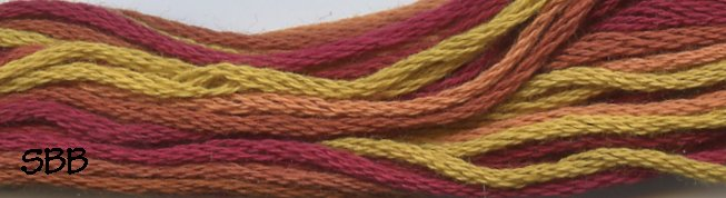 Valdani Variegated Floss M0037 Autumn