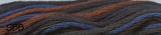 Valdani Variegated Floss M0053 Moonlit Mountains