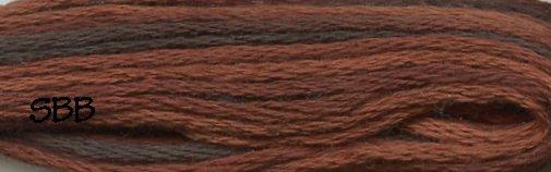 Valdani Variegated Floss M0090 Chocolate Brownies