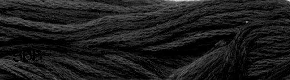 Valdani Variegated Floss O0126 Old Cottage Grey
