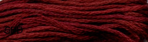 Valdani Variegated Floss O0503 Garnets