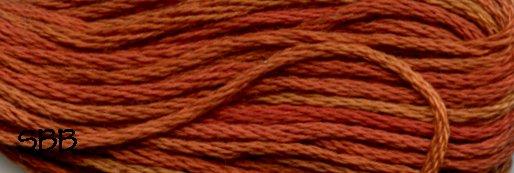 Valdani Variegated Floss O0506 Cinnamon Swirl