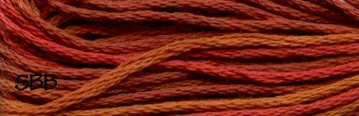 Valdani Variegated Floss O0510 Terracotta Twist