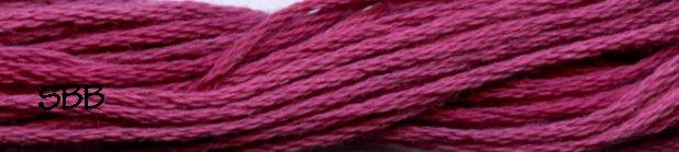 Valdani Variegated Floss O0522 Raspberry
