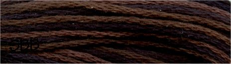 Valdani Variegated Floss O0531 Black Nut