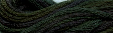 Valdani Variegated Floss O0536 Dark Spruce