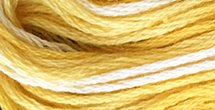 Valdani Variegated Floss O0551 Sunshine