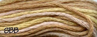Valdani Variegated Floss O0576 Weathered Hay