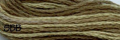 Valdani Variegated Floss O0579 Faded Olives