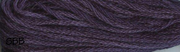 Valdani Variegated Floss O0592 Primitive Purple