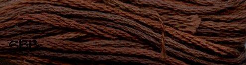 Valdani Variegated Floss P12 Brown