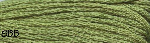 Valdani Solid Floss0019 Deep Lime