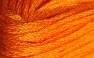 Valdani Solid Floss0065 Orange Red