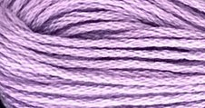 Valdani Solid Floss0080 Lavender Medium