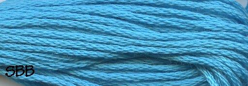 Valdani Solid Floss0093 Bright Turquoise