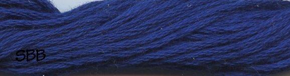 Valdani Solid Floss0105 Luminous Rich Navy