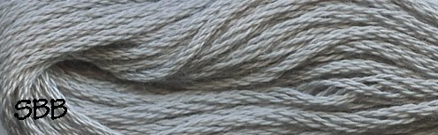 Valdani Solid Floss0118 Pearl Gray