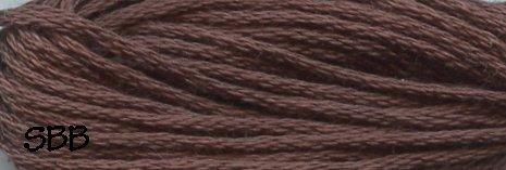 Valdani Solid Floss0172 Rich Medium Brown