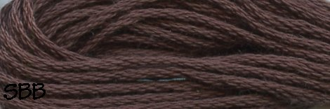 Valdani Solid Floss0173 Rich Brown Dark