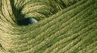 Valdani Solid Floss0190 Rich Olive Green Medium