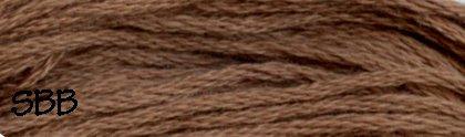 Valdani Solid Floss0196 Golden Brown