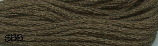 Valdani Solid Floss0199 Rich Olive Green
