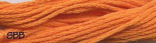 Valdani Solid Floss0204 Orange Bright