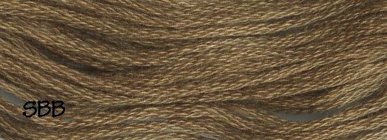 Valdani Solid Floss0234 Khaki Olive