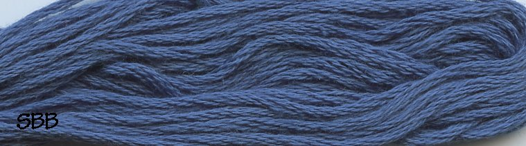 Valdani Solid Floss0304 Rich Denim Medium