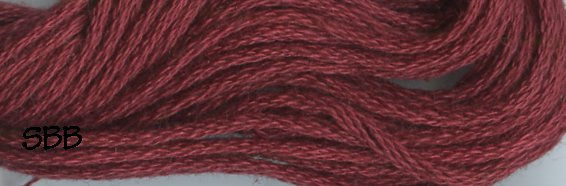 Valdani Solid Floss0843 Old Rose Dark