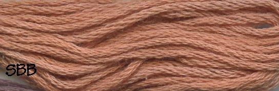 Valdani Solid Floss0861 Faded Rust Light